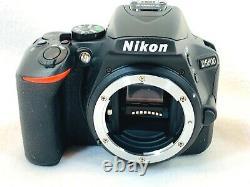 FOR PARTS OR REPAIR Nikon D5600 DSLR Bad Main Board Memory card is locked