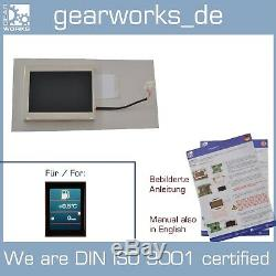 Gearworks Tft Display Für Audi A6 C6 Navigationssystem Bordcomputer Navi MMI 2g