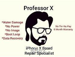 IPhone X Board Repair Service (No Power/Boot Loop/Water Damage) 2 Day Return