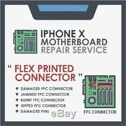 IPhone X Motherboard / Logic board ic repair FPC Connector Phonerepairus