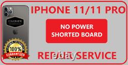 Iphone 11 / 11Pro No Power/Shorted Board Repair Service