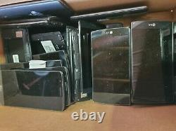 Lot 36 x LG G3 Broken scrap repair wholesale as is board lcd part