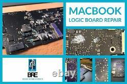Macbook Pro 15 with TouchBar A1707 Logic Board Repair Service Microsoldering
