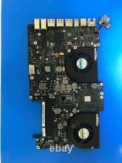 Macbook Pro Retina Liquid Damage Logic Board Repair Service