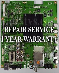 Mail-in Repair Service For LG 55LV5500 Main Board 1 YEAR WARRANTY