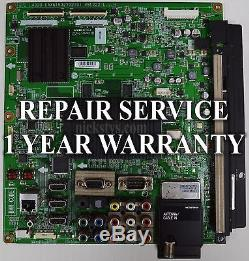 Mail-in Repair Service For LG 55LX9500 Main Board 1 YEAR WARRANTY