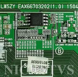 Mail-in Repair Service For LG 55UF6430 Main Board 1 YEAR WARRANTY