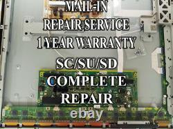 Mail-in Repair Service For Panasonic TC-P55ST30 SC/SD/SU Boards