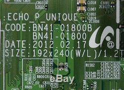 Mail-in Repair Service For Samsung UN55ES7500 Main Board 1 YEAR WARRANTY