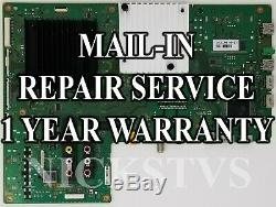 Mail-in Repair Service For Sony XBR-65X930C Main Board 1 YEAR WARRANTY