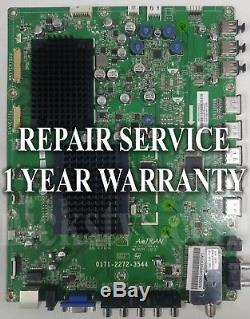 Mail-in Repair Service For Vizio XVT3D650SV Main Board 1 YEAR WARRANTY