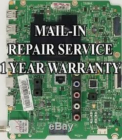 Mail-in Repair Service Samsung UN60H7150 Main Board UN60H7150AFXZA BN41-02157B
