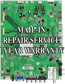 Mail-in Repair Service Vizio M3D650SV Main Board 3665-0042-0150 1 YEAR WARRANTY