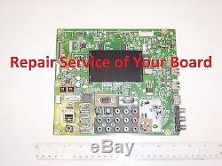 REPAIR SERVICE LG 47GA6400 Main Board EBT62532902 EBR7646203 47GA6400-UD