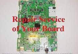 REPAIR SERVICE LG 55GA6400 Main Board 55GA6400-UD. AUSYLJR. EBT62474403