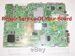 REPAIR SERVICE LG 79UB9800 Main Board EBT63084301 z854a No Picture Sound OK