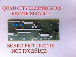 REPAIR SERVICE Panasonic TNPA5105AB, AD, AC SC Board for TC-P50S2 Etc