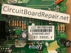 REPAIR SERVICE Spirit Fitness CT800 motor control board YJ-2350 / D020055