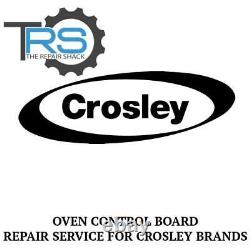 Repair Service For Crosley Oven / Range Control Board 74010311