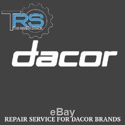 Repair Service For Dacor Oven / Range Control Board 62707