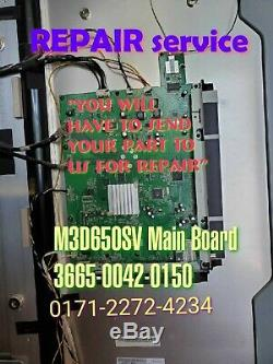 Repair Service Vizio M3D650SV Main Board 3665-0042-0150 0171-2272-4234