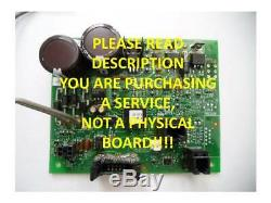 Repair Service for Graco Control Board for GMax II 3900, 5900, 7900 P/N 287516