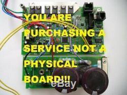 Repair Service for Graco Control Board for UltraMax II Part # 287909/24W893