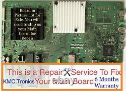 RepairService For Sony XBR-65X850C Main Board A2072607B, 1-894-596-22,189459622