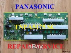 TNPA5175 SC BOARD REPAIR SERVICE for PANASONIC TC-P58S2 TC-P58VT25 7, 10 blinks