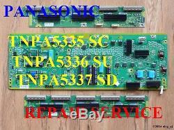 Tnpa5335 Tnpa5336 Tnpa5337 Sc Su Sd Board Repair Service Panasonic Tc-p50gt30