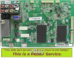 Toshiba 46SL412U 75024033 461C3V51L12 Main Board Repair Service
