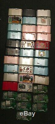 X29 Faulty Nintendo DS Phat Original Consoles x8 Boards for Spares or Repair