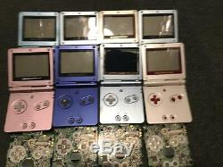 X8 Faulty Nintendo Gameboy Sp Consoles X20 Sp Boards For Spares Of Repair